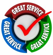 Great Service Customer Satisfaction Superior Quality Attention Help